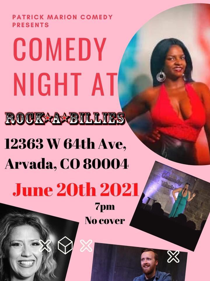 Sunday 6/20: Comedy Night